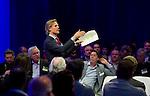 UTRECHT - Lodewijk Klootwijk , A tribe called Golf, de kracht van de connectie. Nationaal Golf Congres van de NVG 2014 , Nederlandse Vereniging Golfbranche. COPYRIGHT KOEN SUYK