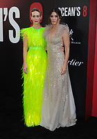 NEW YORK, NY - June 5: Sarah Paulson, Sandra Bullock attends 'Ocean's 8' World Premiere at Alice Tully Hall on June 5, 2018 in New York City. <br /> CAP/MPI/JP<br /> &copy;JP/MPI/Capital Pictures