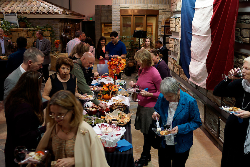 Celebrate the French culture as we gather at La Fête du Beaujolais Nouveau to enjoy wonderful wine, food and music — une tradition bien française.We will honor the victims of the tragic attacks in Paris by observing a minute of silence at the event. La Fête du Beaujolais Nouveau,  held from 6 to 9 p.m. Saturday, Nov. 21 at Silverado Design Center, 5250 South Watt Ave., celebrates the release of this young, fruity, refreshing wine. The evening will feature two varieties of Beaujolais Nouveau,anhors d'oeuvreand dessert buffet, live French music, a silent auction and a raffle.Premium French wine from the France's Beaujolais region will be available for purchase. (photo by Pico van Houtryve) La Fête du Beaujolais Nouveau is a fundraiser for the Alliance Française de Sacramento, a local nonprofit organization whose mission is to promote the French language and culture. Portions of the funds raised will be used to renovate the ournewcenterin the E. Claire Raley Studios for the Performing Arts. The Alliance, part of an international network of more than 1,100 chapters, offers French language courses for adults and children as well as a variety of French cultural events throughout the year.