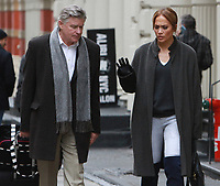 Jennifer Lopez y Treat Williams que filman en el sistema de la segunda ley en New York City el 5 de diciembre de 2017.<br />