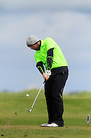 Simon Bryan (Delgan) on the 12th tee during Round 3 of The Irish Amateur Open Championship in The Royal Dublin Golf Club on Saturday 10th May 2014.<br /> Picture:  Thos Caffrey / www.golffile.ie