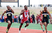 Schools from the Dallas Independent School District participate in the Eddie Payne Relays track and field event at John E. Kincaide Stadium in Dallas, Texas, Saturday, March 29, 2008...MATT NAGER/ SPECIAL CONTRIBUTER