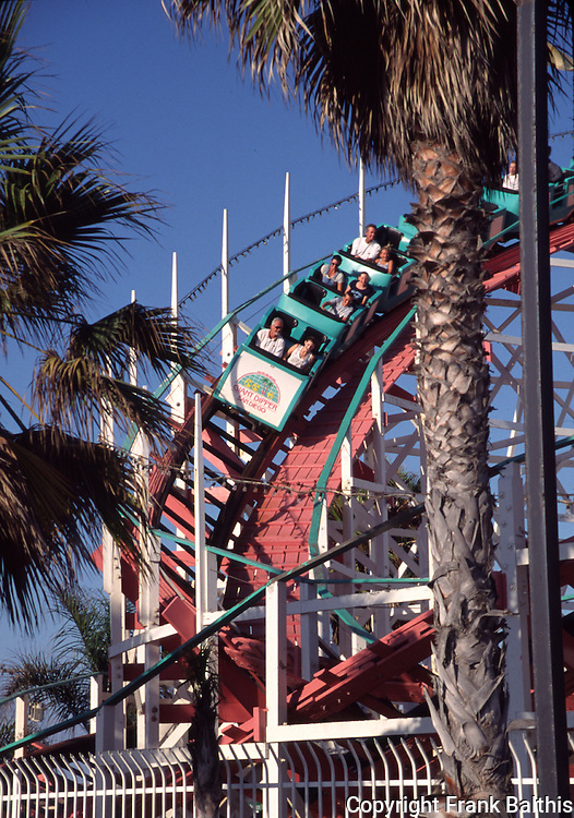 Giant Dipper at Belmont Park in Mission Beach
