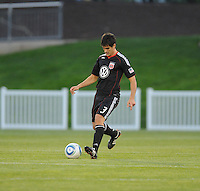 DC United defender Rodrigo Brasesco (3)    The New England Revolution defeated DC United 3-2 in US Open Cup match , at the Maryland SoccerPlex, Tuesday  April 26, 2011.