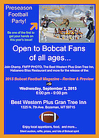 Preseason Football Party - 09/02/2015
