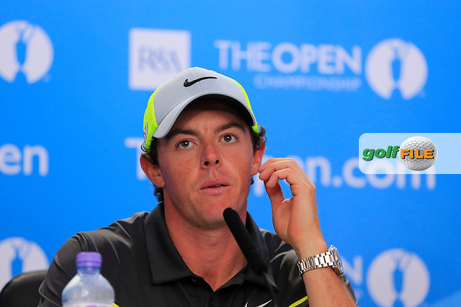 Rory MCILROY (NIR) during round two of The 143rd Open championship Royal Liverpool Golf club, Hoylake, England.: Picture Eoin Clarke, www.golffile.ie: 18th July 2014