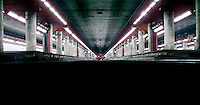 Milano, quartiere Bovisa, periferia nord. Milano Bovisa, stazione delle Ferrovie Nord --- Milan, Bovisa district, north periphery. Milano Bovisa, railway station of Ferrovie Nord