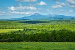 A view of Mt Katahdin from Patten, Maine, USA