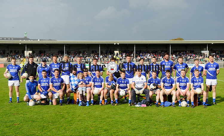 The Cratloe in action against X of Kilmurry Ibrickane during their county final in Cusack park. Photograph by John Kelly.