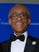 Reverend Al Sharpton arrives for the 2018 White House Correspondents Association Annual Dinner at the Washington Hilton Hotel on Saturday, April 28, 2018.<br /> Credit: Ron Sachs / CNP<br /> <br /> (RESTRICTION: NO New York or New Jersey Newspapers or newspapers within a 75 mile radius of New York City)