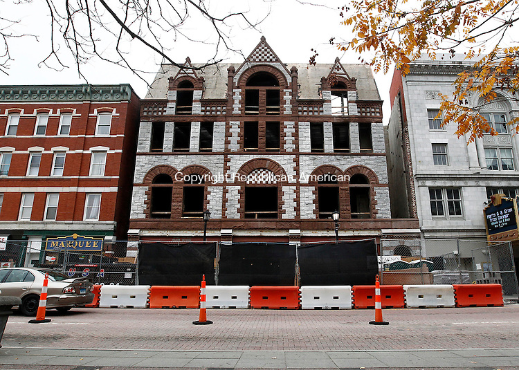 WATERBURY, CT- 01 October 2014-103114CM01- The Rectory Building on East Main Street in Waterbury is under construction and will be utilized by UConn Waterbury.     Christopher Massa Republican-American