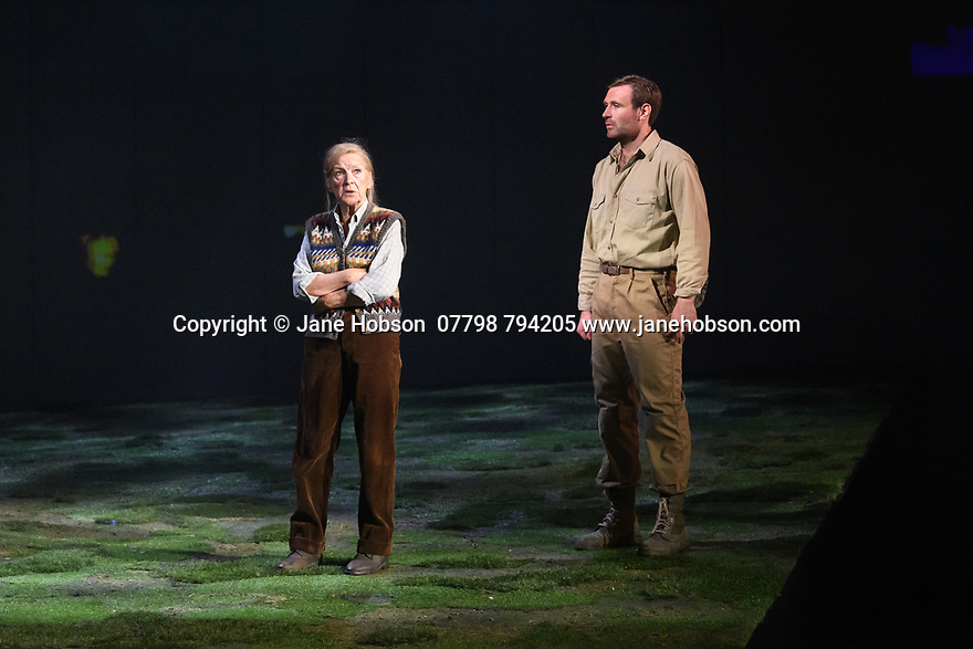 """The National Theatre of Great Britain presents """"Peter Gynt"""", by David Hare, directed by Jonathan Kent, at the Festival Theatre, as part of the Edinburgh International Festival. Picture shows: Ann Louise Ross, James McArdle (Peter Gynt)."""