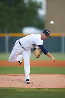 Lakeland Flying Tigers starting pitcher Jeff Ferrell (17) during a game against the Brevard County Manatees April 19, 2016 at Henley Field in Lakeland, Florida.  Lakeland defeated Brevard County 9-2.  (Mike Janes/Four Seam Images)