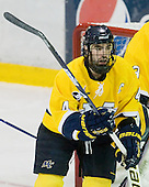 Pat Bowen (Merrimack - 4) - The Merrimack College Warriors defeated the Boston College Eagles 5-3 on Sunday, November 1, 2009, at Lawler Arena in North Andover, Massachusetts splitting the weekend series.