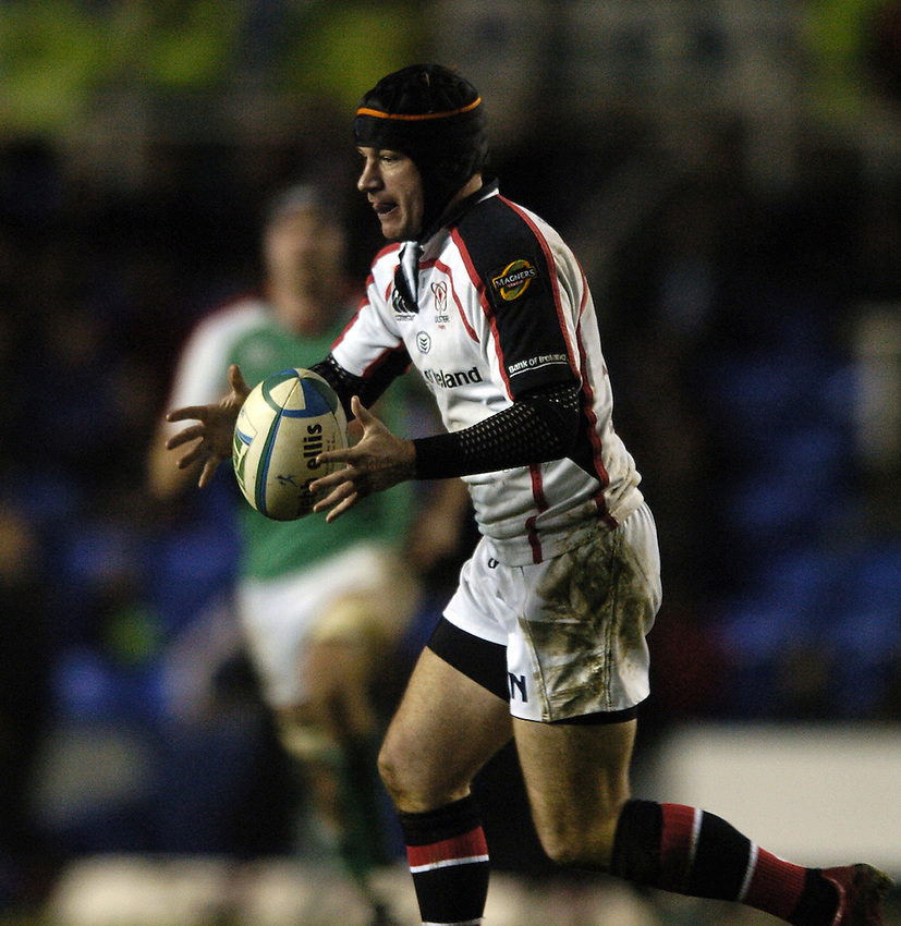 Photo: Jonathan Butler...London Irish v Ulster Rugby. Heineken Cup. 09/12/2006...David Humphreys of Ulster.