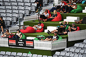 23rd March 2018, Eden Park, Auckland, New Zealand; International Test Cricket, New Zealand versus England, day 2;  Fans and supporters