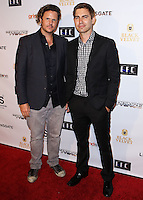 HOLLYWOOD, LOS ANGELES, CA, USA - AUGUST 18: Andrew Grush, Taylor Newton Stewart at the Los Angeles Premiere Of Lionsgate Films' 'The Prince' After Party held at Supperclub on August 18, 2014 in Hollywood, Los Angeles, California, United States. (Photo by Xavier Collin/Celebrity Monitor)