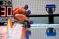 Team Nederland warm Up Riscaldamento <br /> Trieste 15/01/2019 Centro Federale B. Bianchi <br /> Women's FINA Europa Cup 2019 water polo<br /> Italy ITA - Nederland NED <br /> Foto Andrea Staccioli/Deepbluemedia/Insidefoto