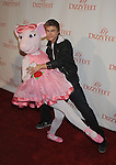 HOLLYWOOD, CA. - November 29: Derek Hough and Angelina Ballerina arrive at the Dizzy Feet Foundation's Inaugural Celebration Of Dance at the Kodak Theatre on November 29, 2009 in Hollywood, California.