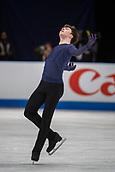 24th March 2018, Mediolanum Forum, Milan, Italy;  Dmitri ALIEV (RUS) during the ISU World Figure Skating Championships, Men Free Skating at Mediolanum Forum in Milan, Italy