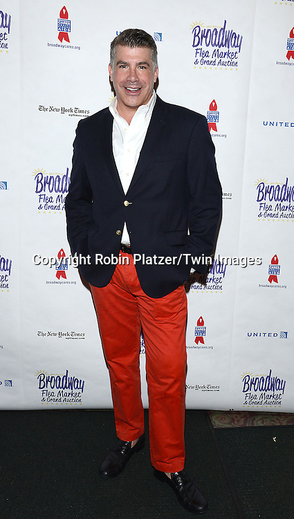 Bryan Batt attends the 28th Annual  Broadway Cares/ Equity Fights Aids Flea Market and Auction on September 21,2014 in Shubert Alley in New York City. <br /> <br /> photo by Robin Platzer/Twin Images<br />  <br /> phone number 212-935-0770