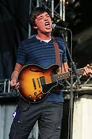 Emile Bilodeau performs at the Festival d'ete de Quebec (Quebec City Summer Festival) Friday July 10, 2015.