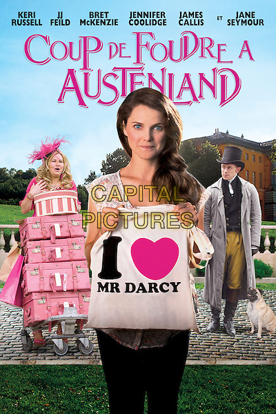FRENCH POSTER ART<br /> in Austenland (2013) <br /> (Coup de foudre a Austenland)<br /> *Filmstill - Editorial Use Only*<br /> CAP/NFS<br /> Image supplied by Capital Pictures