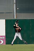 May 31 2009: Charlie Blackmon of the Modesto Nuts during game against the Lancaster JetHawks at Clear Channel Stadium in Lancaster,CA.  Photo by Larry Goren/Four Seam Images