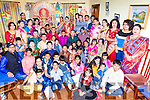 The Kerry Hindu Cultural Organistation who were celebrating the Sharadiya Durgotsav festival in Killarney on Monday