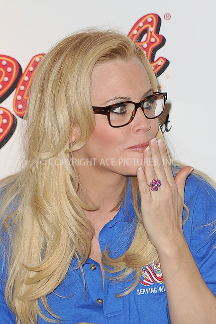 WWW.ACEPIXS.COM . . . . . .March 20, 2013...New York City....Jenny McCarthy attends the Ravioli Day pasta eating contest at Buca Di Beppo in Times Square on March 20, 2013 in New York City ....Please byline: KRISTIN CALLAHAN - ACEPIXS.COM.. . . . . . ..Ace Pictures, Inc: ..tel: (212) 243 8787 or (646) 769 0430..e-mail: info@acepixs.com..web: http://www.acepixs.com .