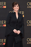 Ruthie Henshall<br /> arriving for the Olivier Awards 2019 at the Royal Albert Hall, London<br /> <br /> ©Ash Knotek  D3492  07/04/2019