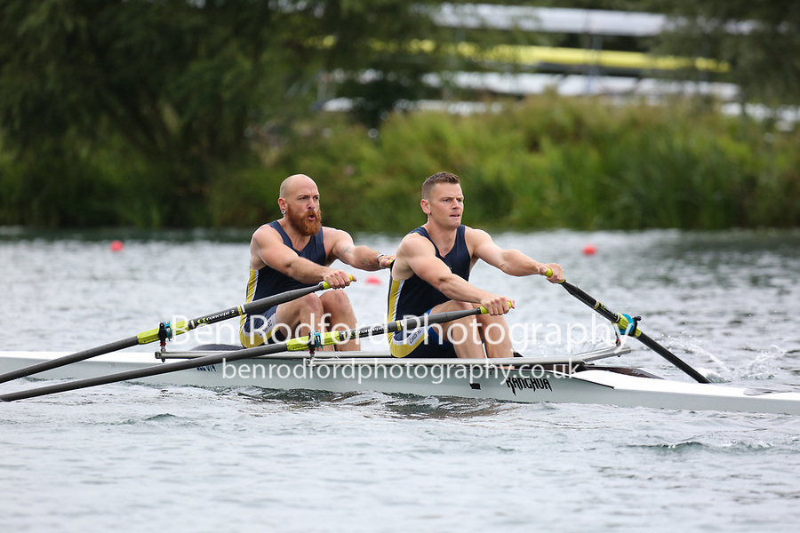Race: 44  2x (Band 3)  Heat 2<br /> <br /> Peterborough Summer Regatta 2018 - Sunday<br /> <br /> To purchase this photo, or to see pricing information for Prints and Downloads, click the blue 'Add to Cart' button at the top-right of the page.