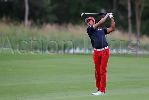 27.11.2014. Sydney, Australia. Australian Open Golf Championship, Round 1 held at The Australian Golf Club.  GUNN YANG