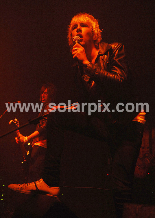 **ALL ROUND PICTURES FROM SOLARPIX.COM**.**WORLDWIDE SYNDICATION RIGHTS**.The pop group The Towers playing live at the Electric Ballroom in London last night..JOB REF:4388-SSD     DATE:26_07_07.**MUST CREDIT SOLARPIX.COM OR DOUBLE FEE WILL BE CHARGED* *UNDER NO CIRCUMSTANCES IS THIS IMAGE TO BE REPRODUCED FOR ANY ONLINE EDITION WITHOUT PRIOR PERMISSION*