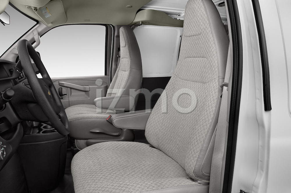 Front seat view of 2016 Chevrolet Express-Cargo 2500-Work-Van-HD 4 Door Cargo Van Front Seat  car photos