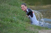FIERLJEPPEN: BUITENPOST: 14-05-2016, winnaar Klaske Nauta, ©foto Martin de Jong