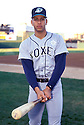 Appleton Foxes Alex Rodriguez during a Single-A Minor League game against the South Bend White Sox in 1994. He was called up to the Seattle Mariners shortly after this game.