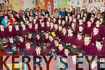 The children from Knockaderry NS who perfomed a concert for their parents at the open evening on Friday