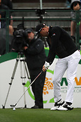 February 3rd 2019, Scottsdale, Arizona, USA;  Justin Thomas tees off on the first hole at the final round of the Waste Management Phoenix Open on February 3, 2019, at TPC Scottsdale in Scottsdale, Arizona.