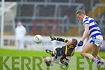 Colm Cooper Dr. Crokes in action against Sean Sineen Castlehaven in the Munster Senior Club Final at Pairc Ui Caoimh on Sunday