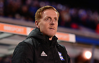 Garry Monk, manager of Birmingham during the Sky Bet Championship match between Birmingham City and Middlesbrough at St Andrews, Birmingham, England on 6 March 2018. Photo by Bradley Collyer / PRiME Media Images.