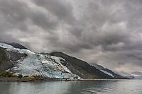 Bryn Mawr glacier in College Fjord, Chugach National Forest, Prince William Sound, Alaska.