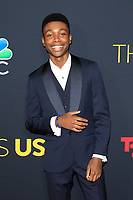 LOS ANGELES - SEP 25: Niles Fitch at the Premiere of NBC's 'This Is Us' Season 3 at Paramount Studios on September 25, 2018 in Los Angeles, California
