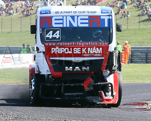 30.08.2015. Most, Czech Republic. FIA European Truck Racing Championship. Czech Truck Prix. 3rd race,Stephanie HALM (GER) MAN, Reinert Racing,