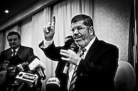 ©VIRGINIE NGUYEN HOANG/.Egypt,Cairo.2012..Mohamed Morsi is the presidential candidate of Muslim Brotherhood, Egypt?s dominant Islamist group, and he's the apparent winner of the first round of voting with 5.76 million votes.