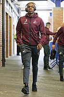 Joel Asoro of Swansea City arrives prior to the game during the Sky Bet Championship match between Sheffield Wednesday and Swansea City at Hillsborough Stadium, Sheffield, England, UK. Saturday 23 February 2019