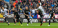 Bolton Wanderers' Adam Le Fondre scores from the penalty spot<br /> <br /> Photographer Andrew Kearns/CameraSport<br /> <br /> The EFL Sky Bet Championship - Bolton Wanderers v Leeds United - Sunday 6th August 2017 - Macron Stadium - Bolton<br /> <br /> World Copyright &copy; 2017 CameraSport. All rights reserved. 43 Linden Ave. Countesthorpe. Leicester. England. LE8 5PG - Tel: +44 (0) 116 277 4147 - admin@camerasport.com - www.camerasport.com