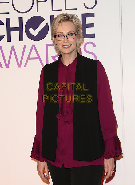 Beverly Hills, CA - November 03 Jane Lynch Attending People's Choice Awards 2016 - Nominations Press Conference At The Paley Center for Media On November 03, 2015. <br /> CAP/MPI/UPAFS<br /> &copy;FSUPA/MPI/Capital Pictures