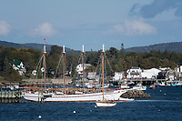 Schooner in Maine