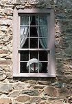 Cottage window with china plate Commonwealth of Virginia, Fine Art Photography by Ron Bennett, Fine Art, Fine Art photography, Art Photography, Copyright RonBennettPhotography.com ©